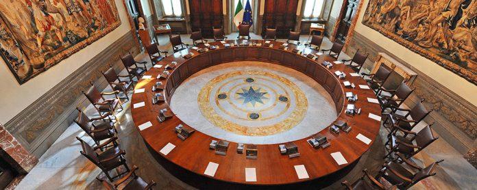 Governo Consiglio dei ministri - Coronavirus