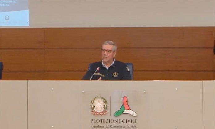 Coronavirus Conferenza stampa Borrelli