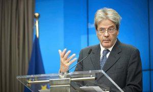 Gentiloni Unione Europea pil