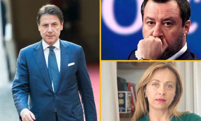 Conte Salvini Meloni