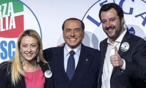 Meloni-Berlusconi-Salvini Centrodestra