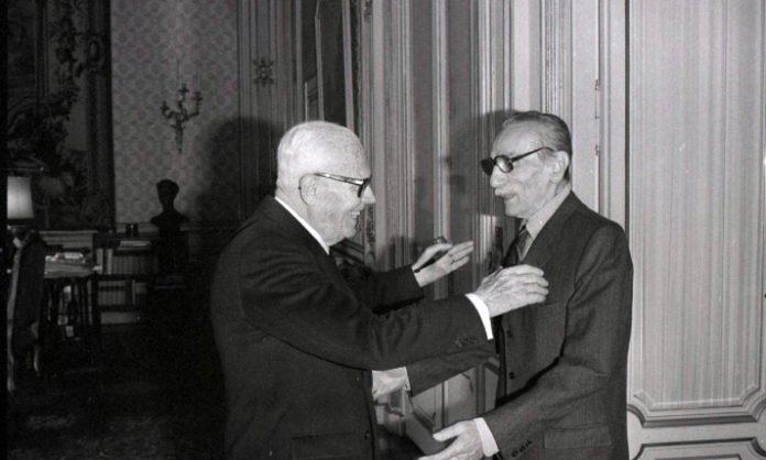 Eduardo De Filippo e Pertini