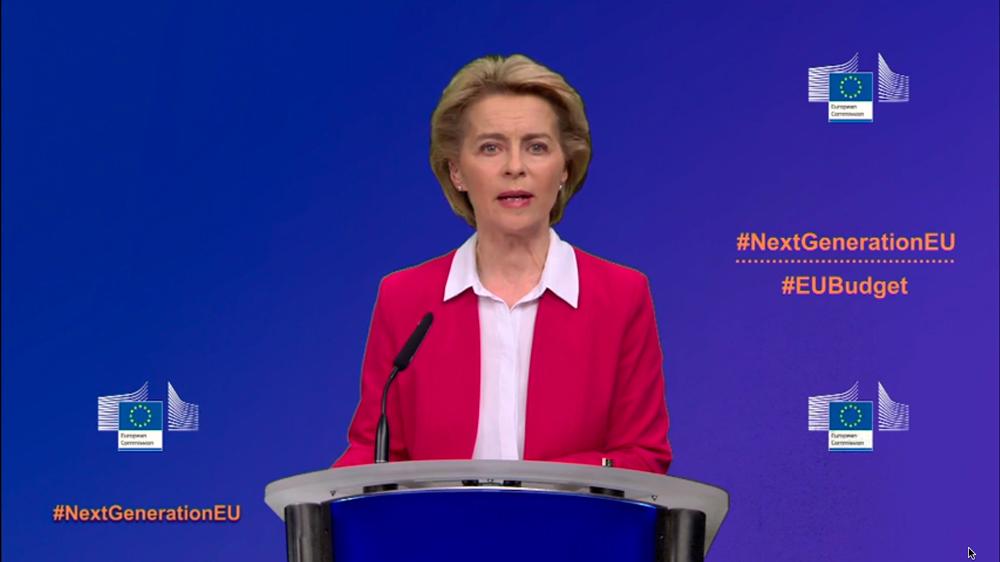 Ursula Von der Leyen Recovery Fund