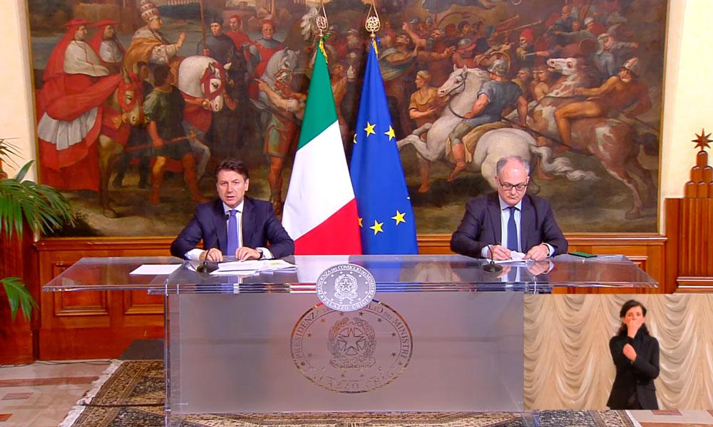 Conte e Gualtieri al lavoro per il decreto Rilancio