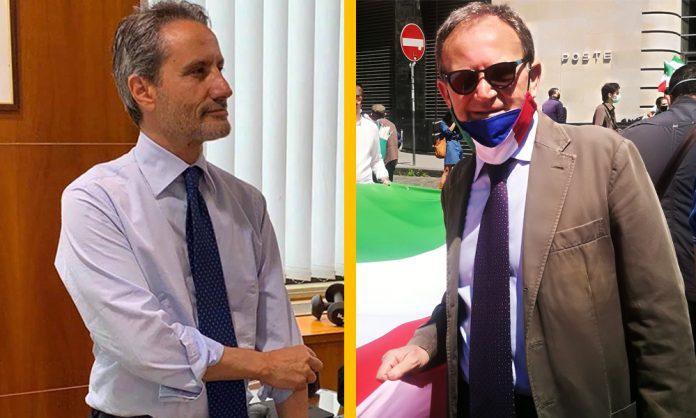 Stefano Caldoro e Luciano Schifone