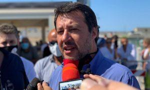 Matteo Salvini Mondragone