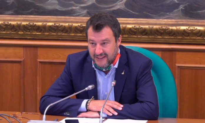 Matteo Salvini Caso open arms