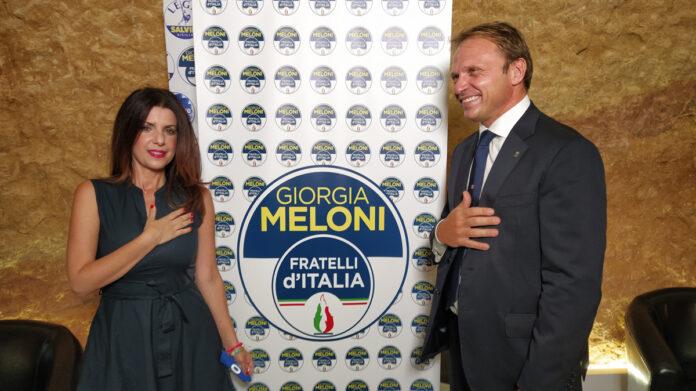 Daniela Catalano e Francesco Lollobrigida