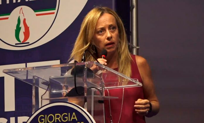 Giorgia Meloni contro Bonafede