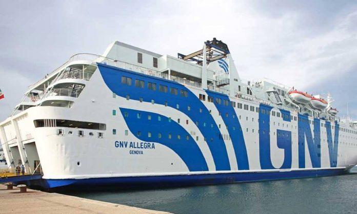 Gnv Allegra nave quarantena per i migranti