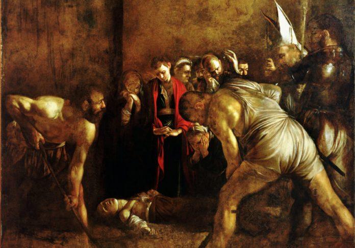 Seppellimento di Santa Lucia del Caravaggio
