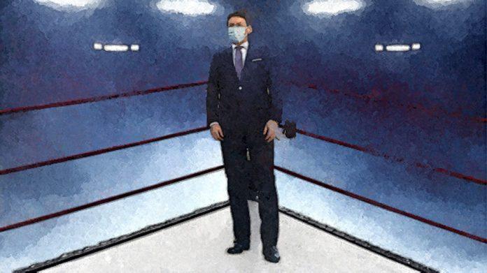 Conte sul ring