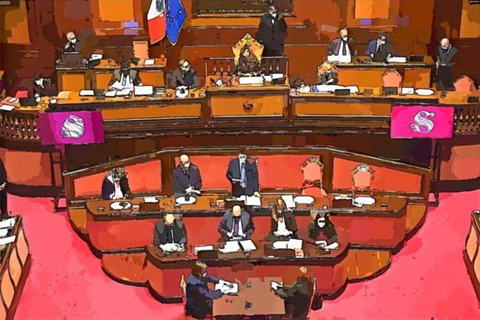Conte in Senato