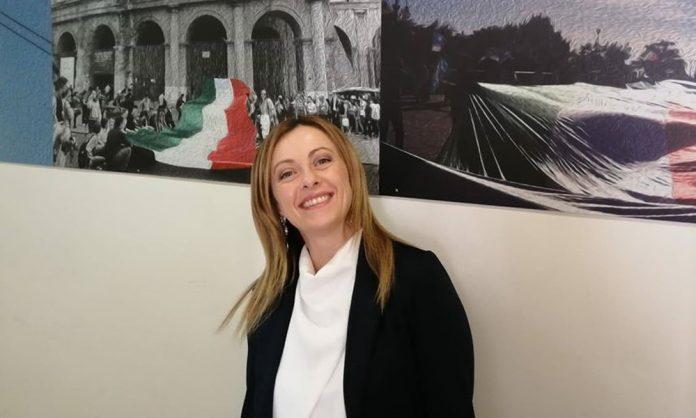 Giorgia Meloni ad Agrigento