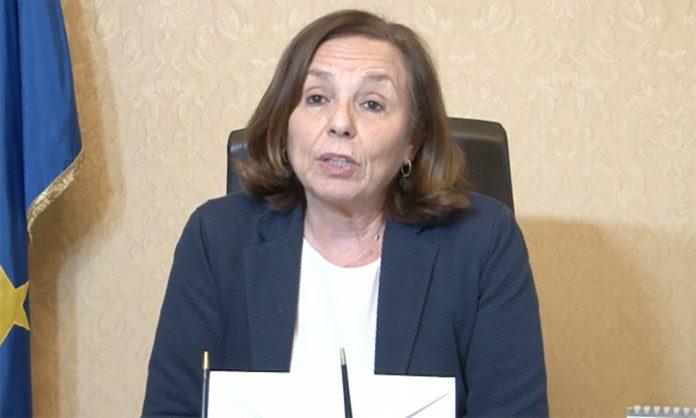 Luciana Lamorgese per i controlli sul rispetto delle ordinanze contro il Coronavirus