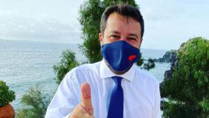 Matteo Salvini a Catania per il processo Gregoretti