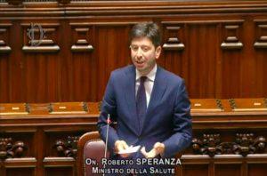 Roberto Speranza Covid-19 nuovo dpcm