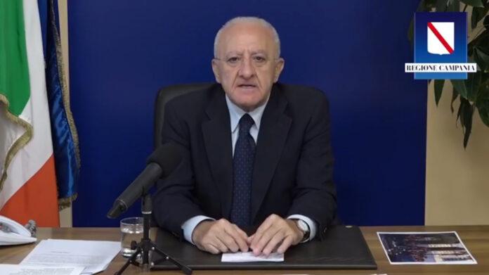 Vincenzo De Luca, governatore della Campania