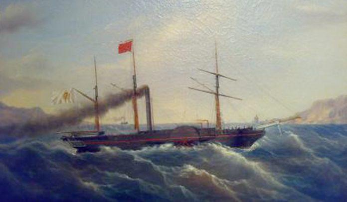 La Ferdinando I, prima goletta a vapore del Mediterraneo, costruita al Sud