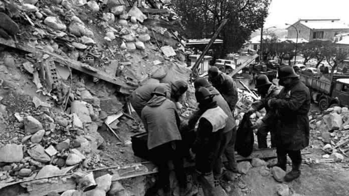 Terremoto dell'Irpinia