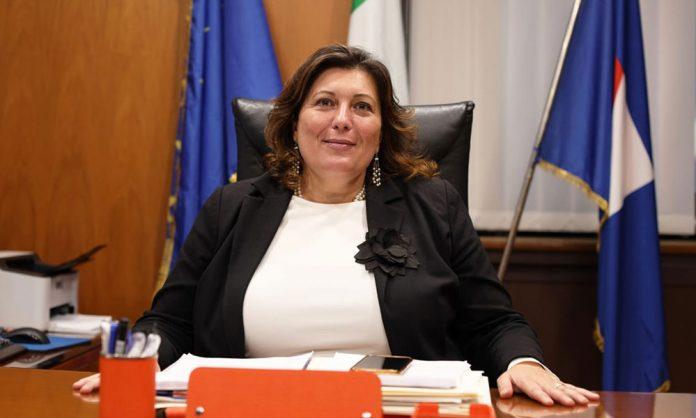La vicepresidente del Consiglio regionale Valeria Ciarambino