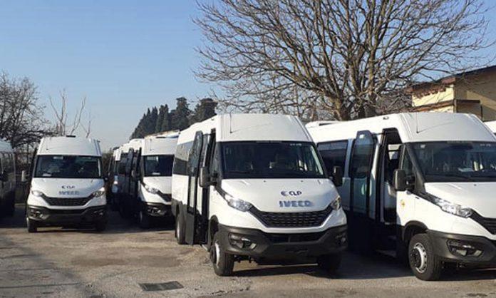 Minibus della Clp