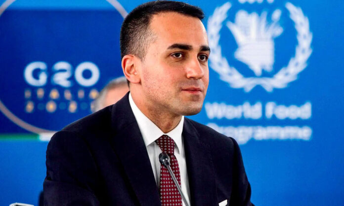Il ministro Luigi Di Maio