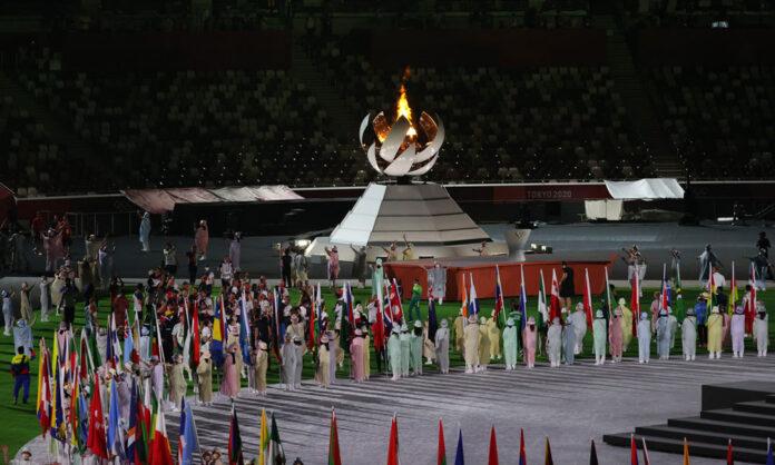 La cerimonia di chiusa (foto Coni)