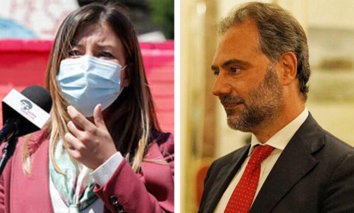 Alessandra Clemente e Catello Maresca